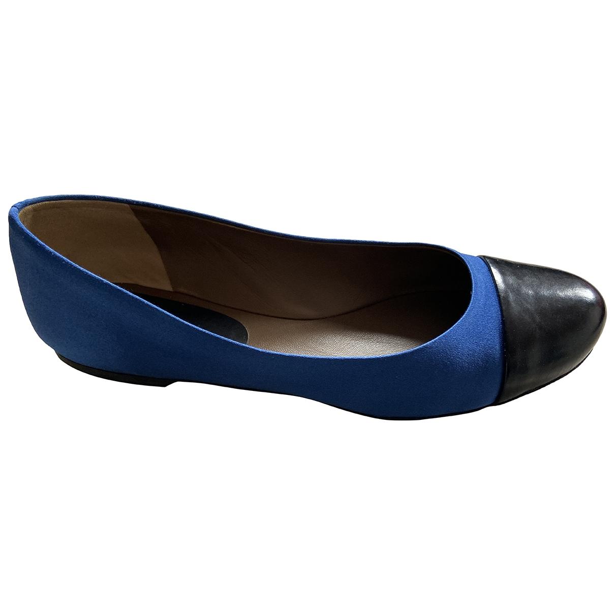 Marni \N Ballerinas in  Blau Leder