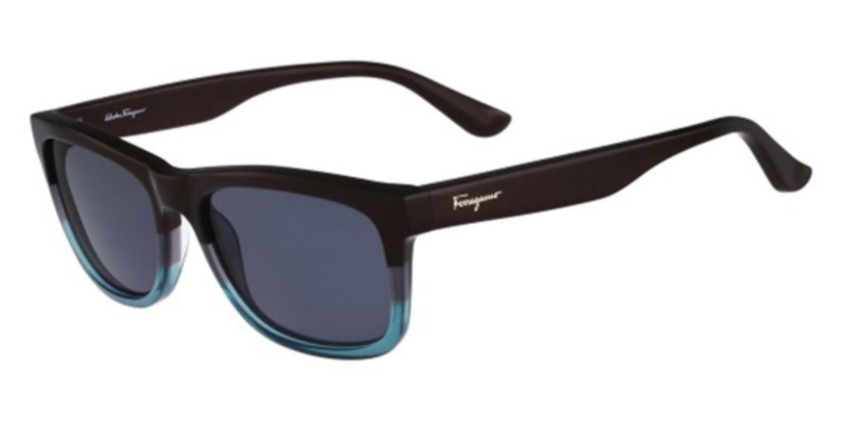 Salvatore Ferragamo SF 775S 235 Men's Sunglasses Blue Size 55