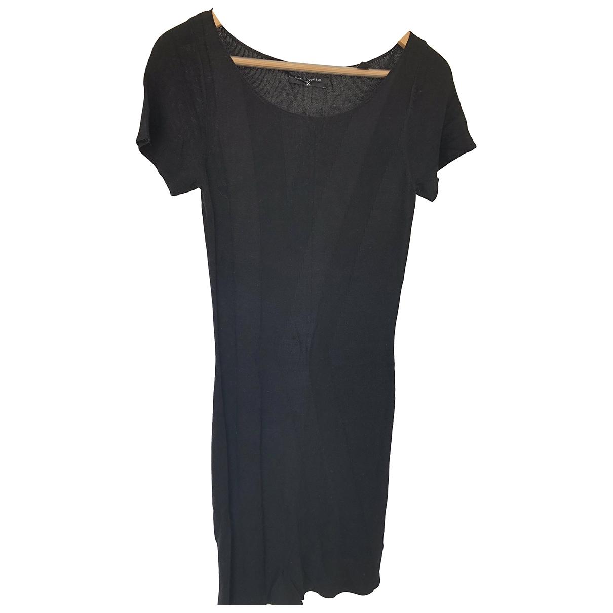 Karl Lagerfeld \N Black dress for Women 40 IT