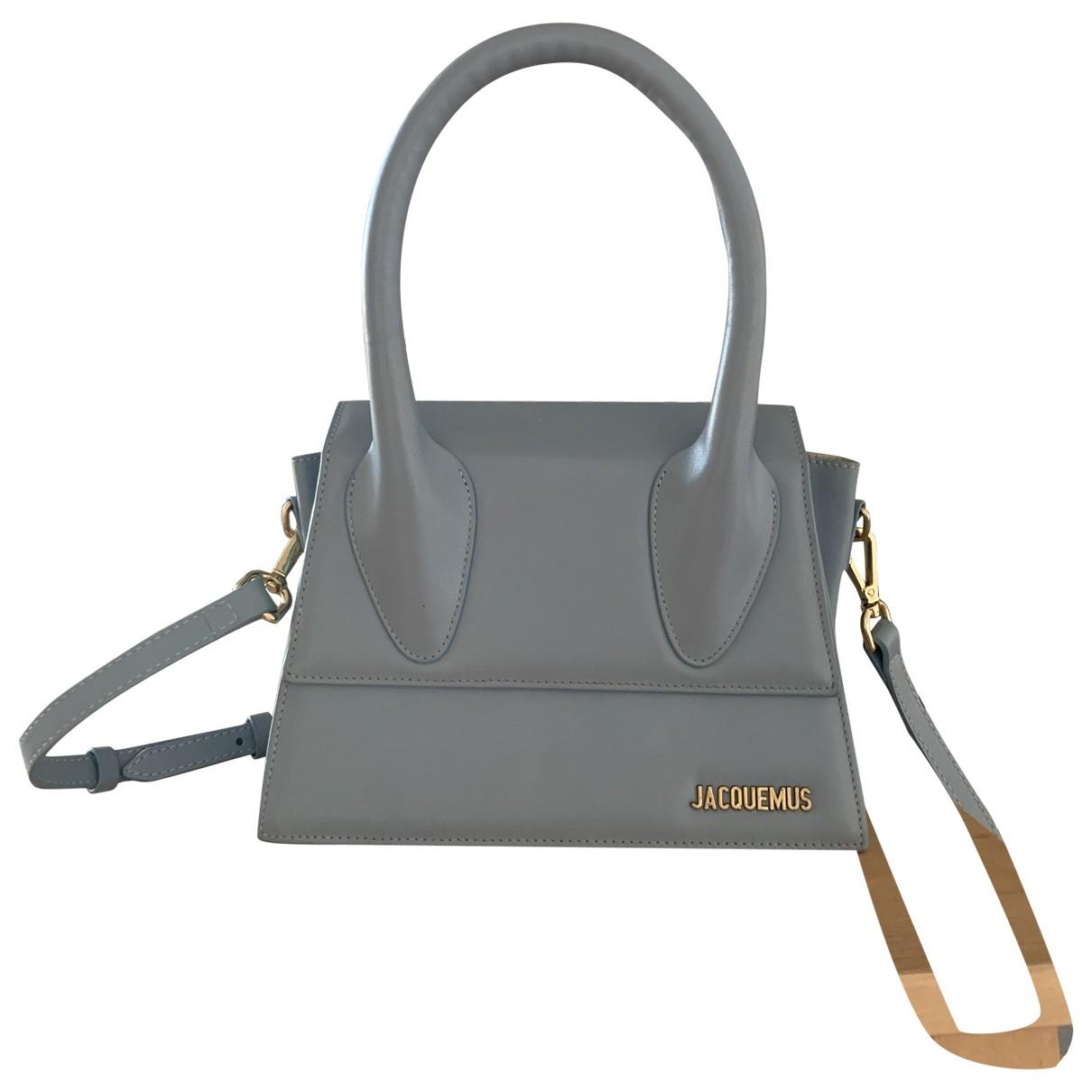 Jacquemus Le Grand Chiquito Blue Leather handbag for Women \N