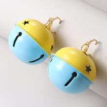 Weihnachten Ohrringe mit Glocken Dekor