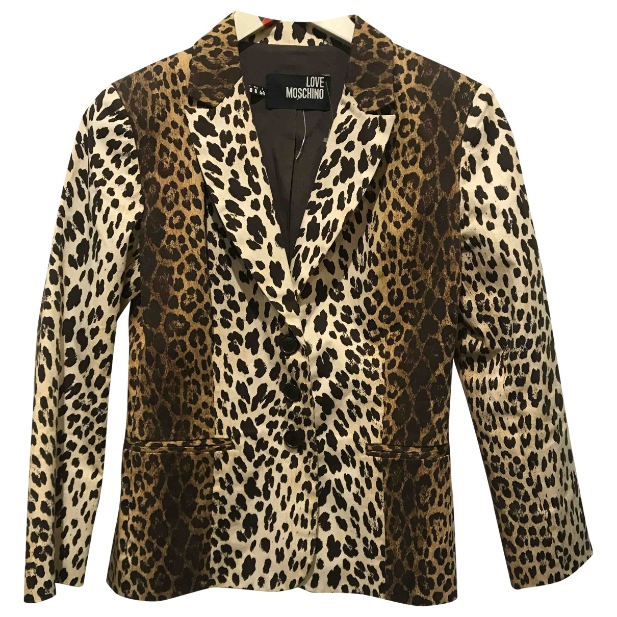 Moschino Love \N Multicolour Cotton jacket for Women 32 FR