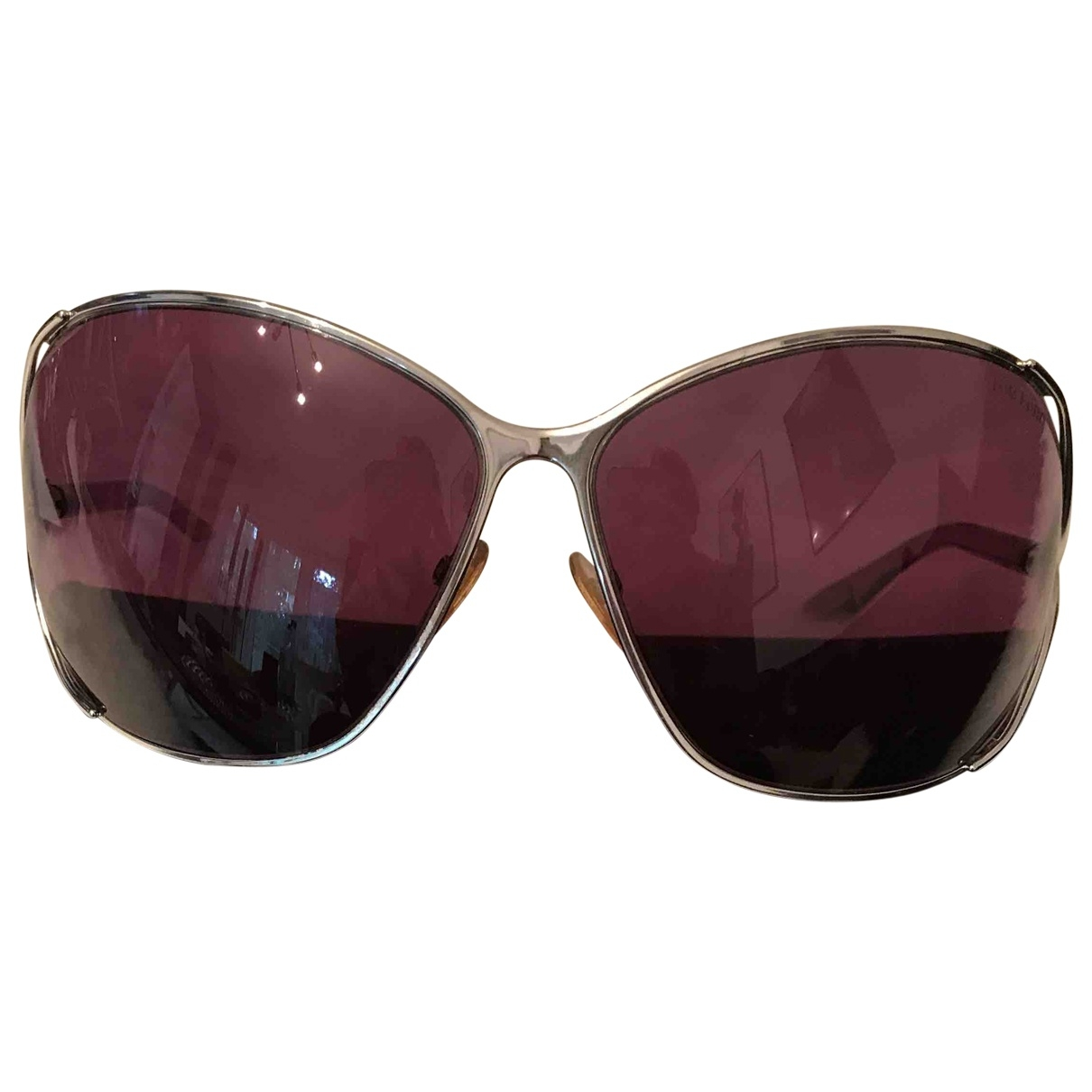 Tom Ford \N Anthracite Metal Sunglasses for Women \N