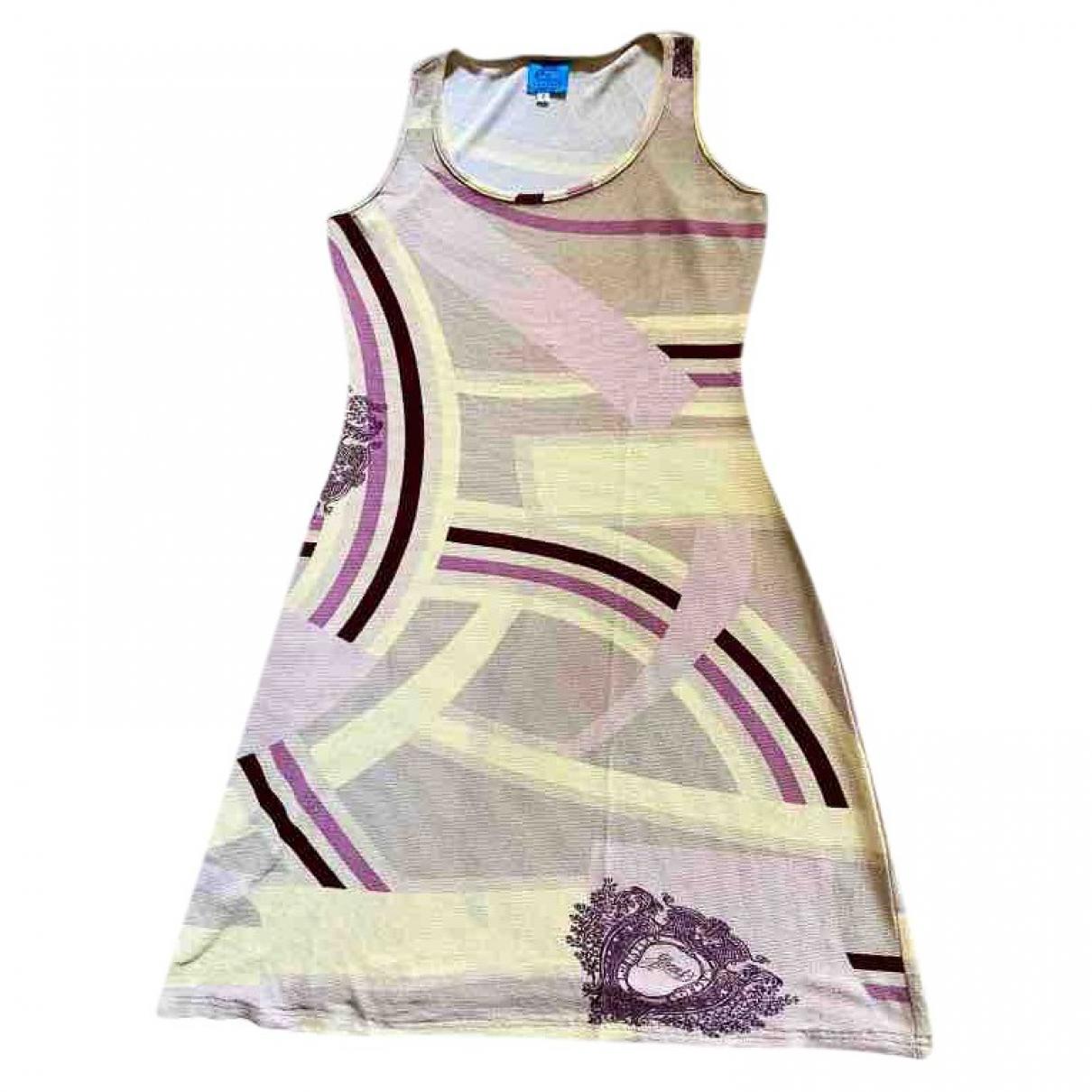 Christian Lacroix \N Kleid in  Beige Viskose