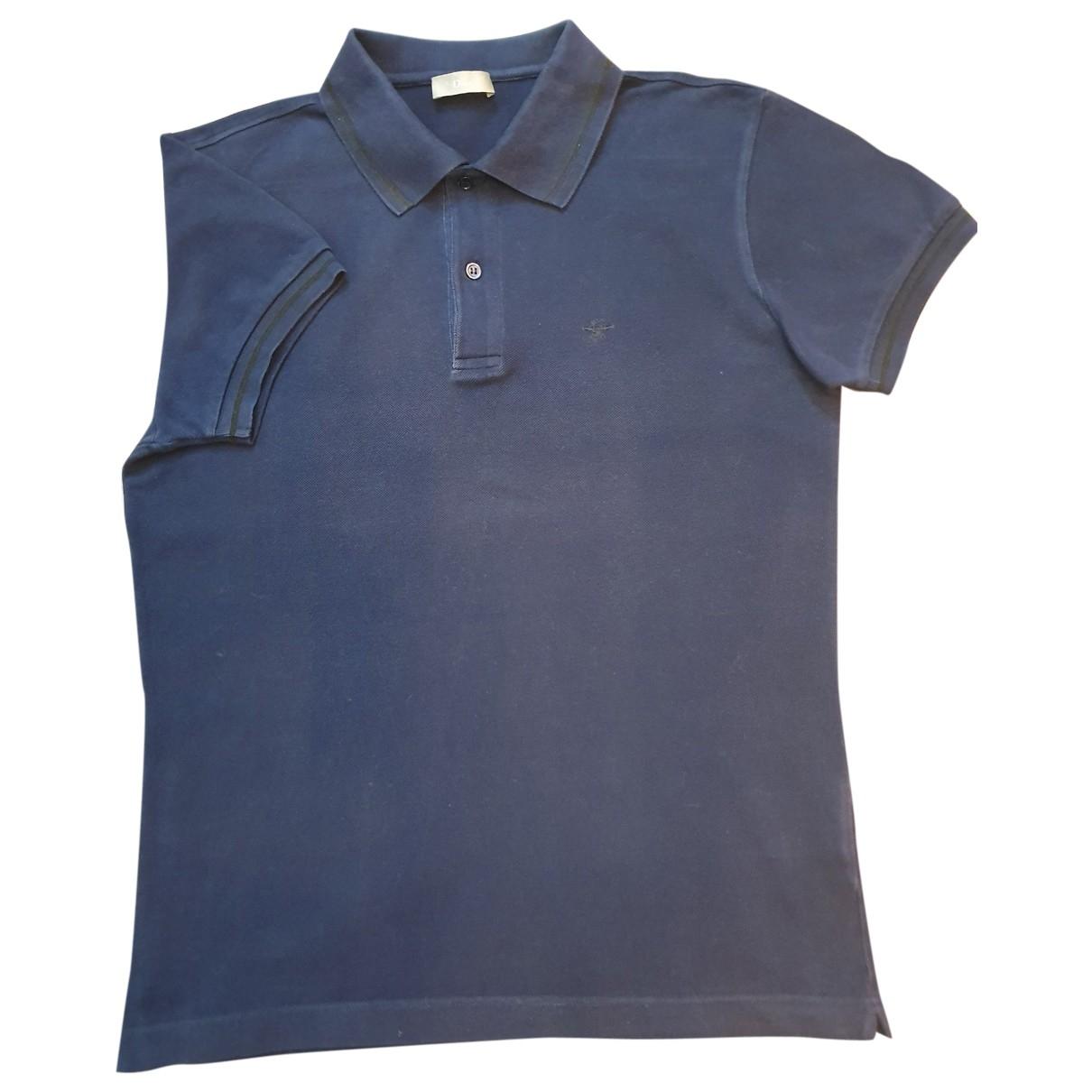 Dior Homme - Polos   pour homme en coton - bleu