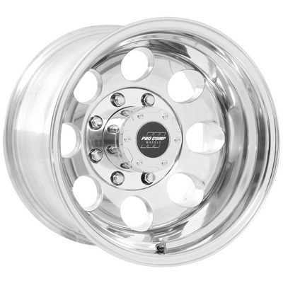 Pro Comp 69 Series Vintage, 16x10 Wheel with 8 on 170 Bolt Pattern - Polished - 1069-6170