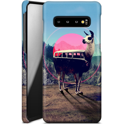 Samsung Galaxy S10 Smartphone Huelle - Llama von Ali Gulec