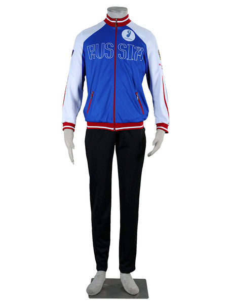 Milanoo Yuri On Ice Yuri Plisetsky Cosplay Costume Halloween