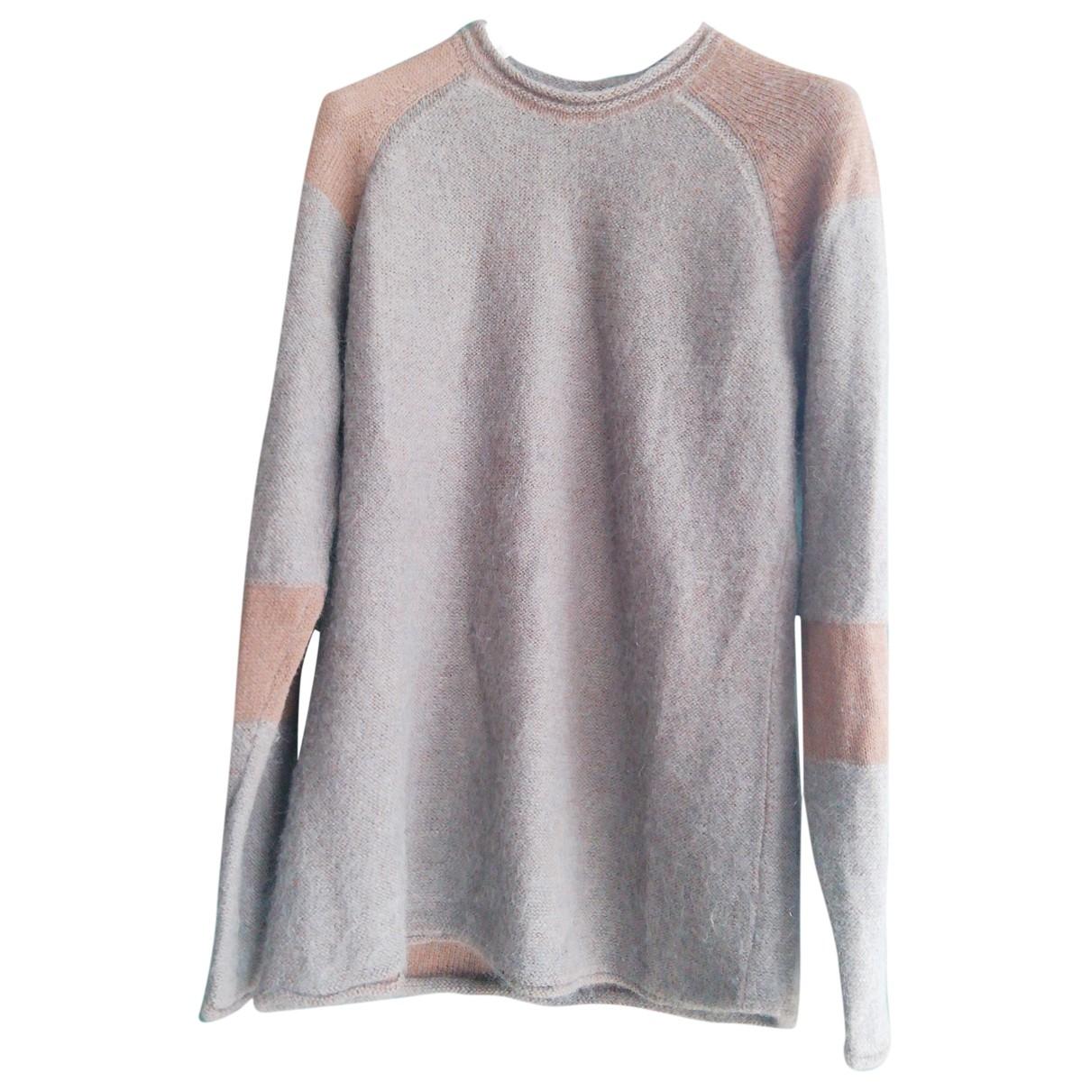 Emporio Armani - Pulls.Gilets.Sweats   pour homme en laine - marron