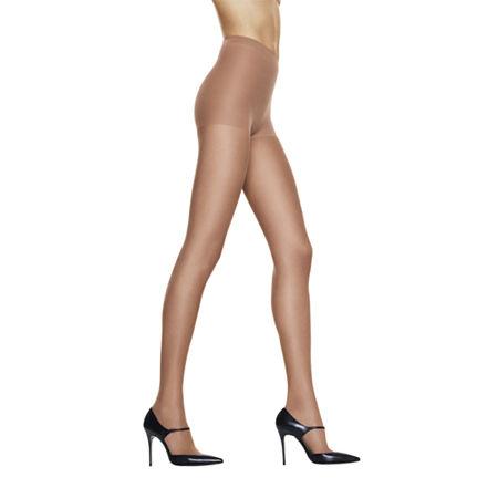 Hanes Silk Reflections Silky Sheer Control-Top Reinforced Toe Pantyhose, Ef , Beige