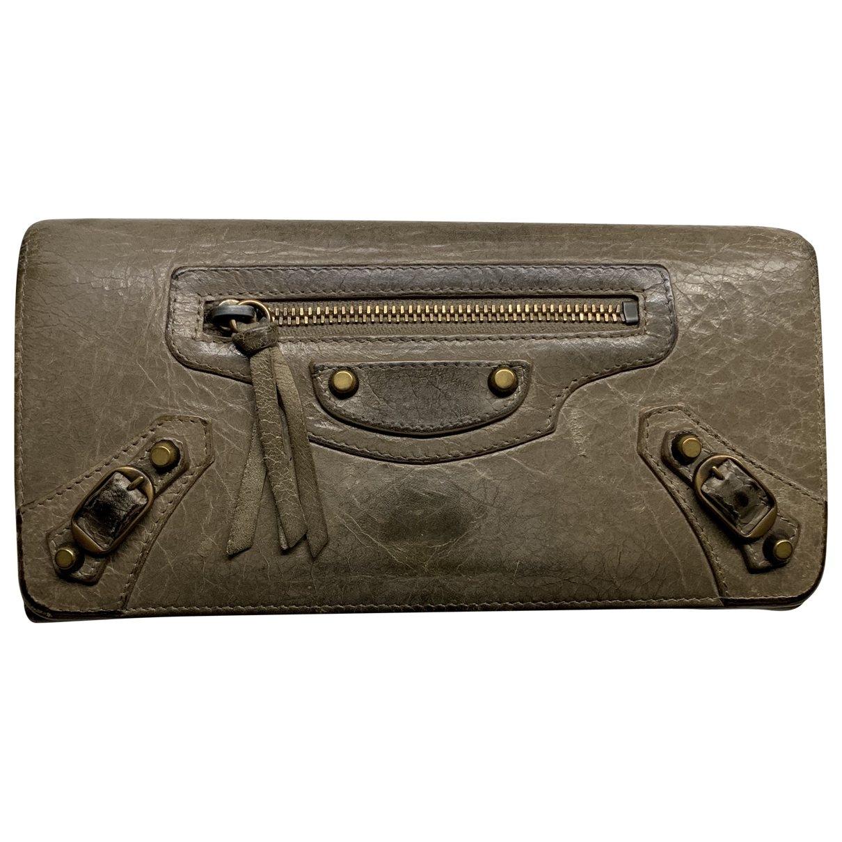 Balenciaga \N Leather wallet for Women \N