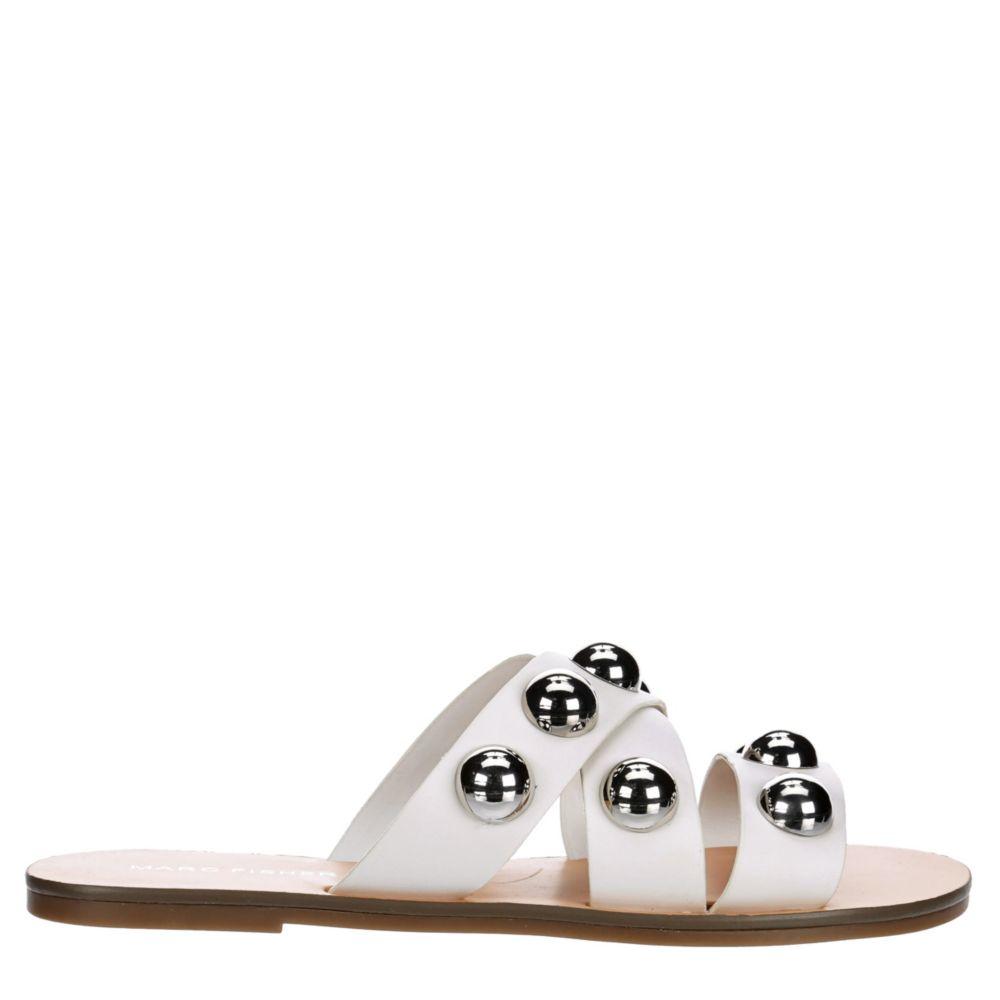 Marc Fisher Womens Bryte 2 Flat Slide Sandal