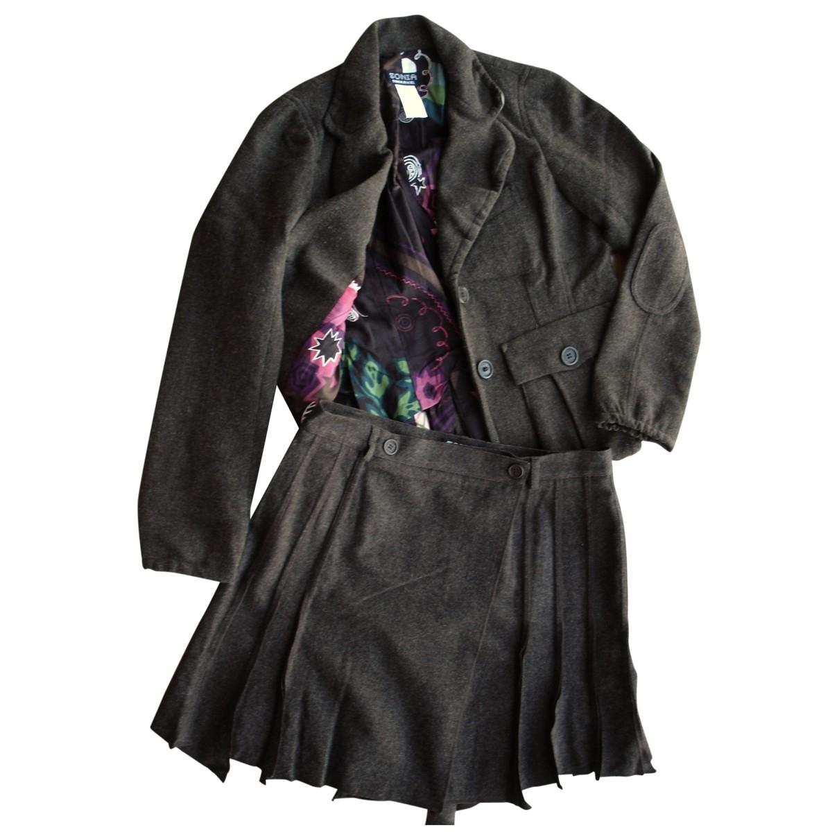 Sonia By Sonia Rykiel - Veste   pour femme en laine - marron