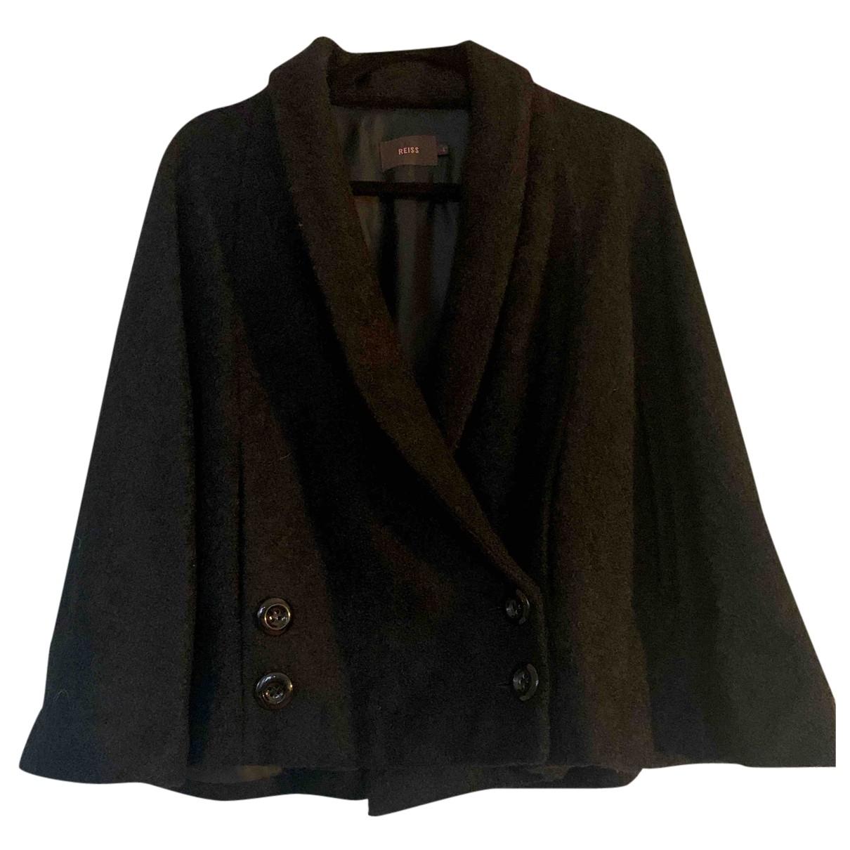 Reiss - Veste   pour femme en laine - noir