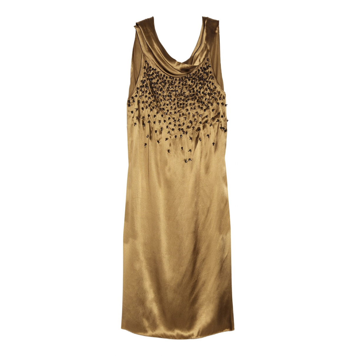 Day Birger & Mikkelsen \N Kleid in  Gold Seide