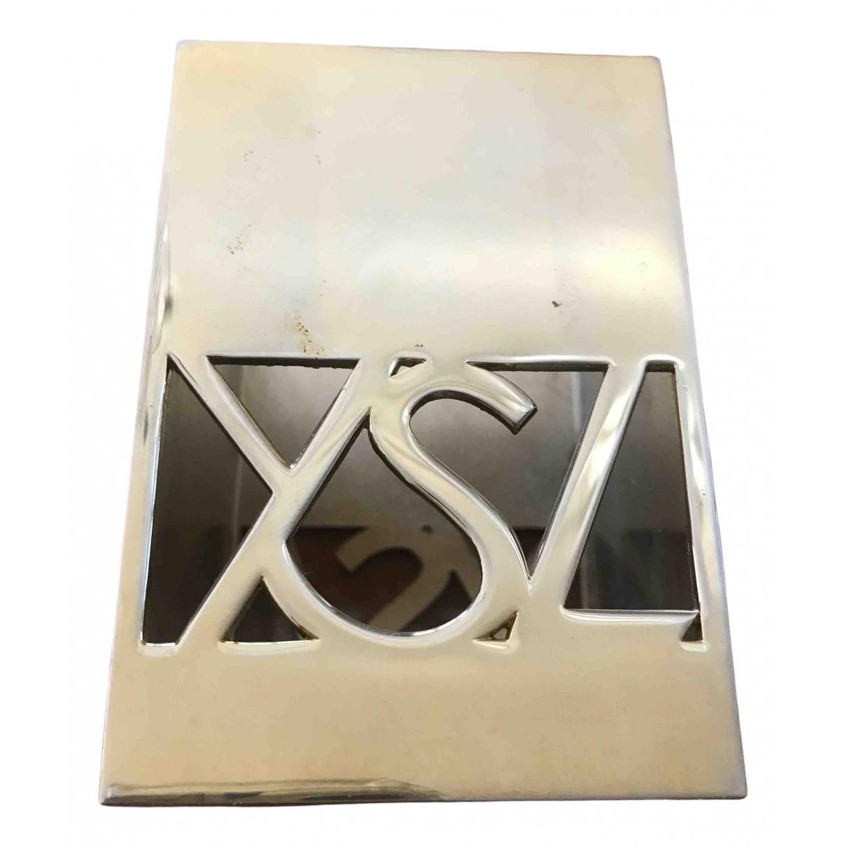 Yves Saint Laurent N Gold Metal Home decor for Life & Living N