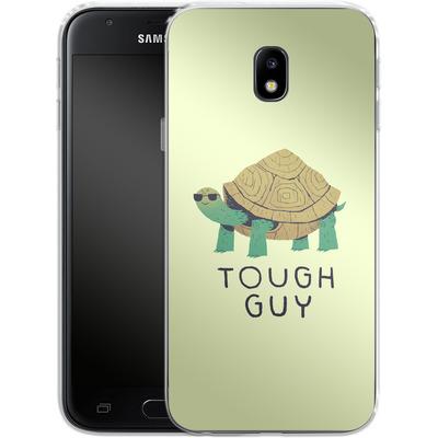 Samsung Galaxy J3 (2017) Silikon Handyhuelle - Tough Guy von Louis Ros