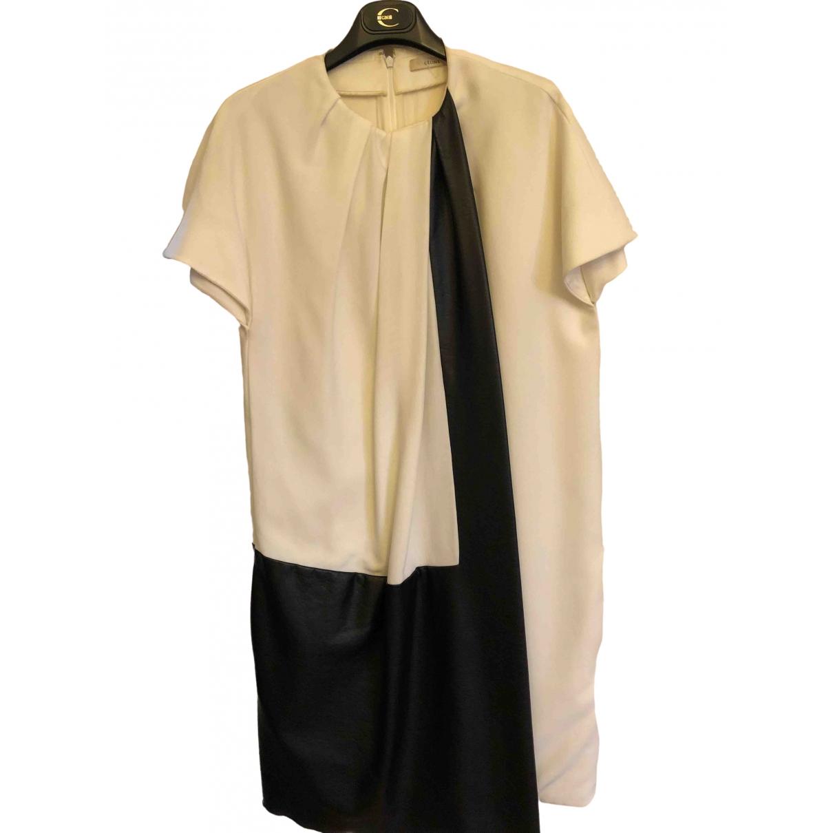 Celine - Robe   pour femme - blanc