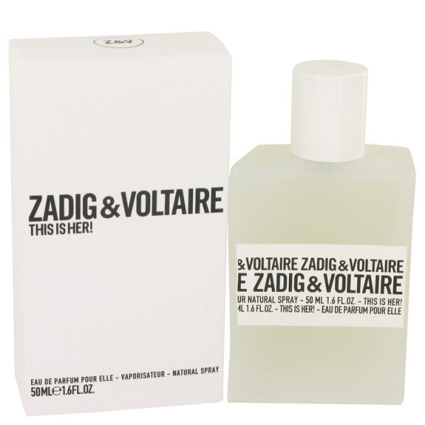 Zadig & Voltaire - This Is Her : Eau de Parfum Spray 1.7 Oz / 50 ml
