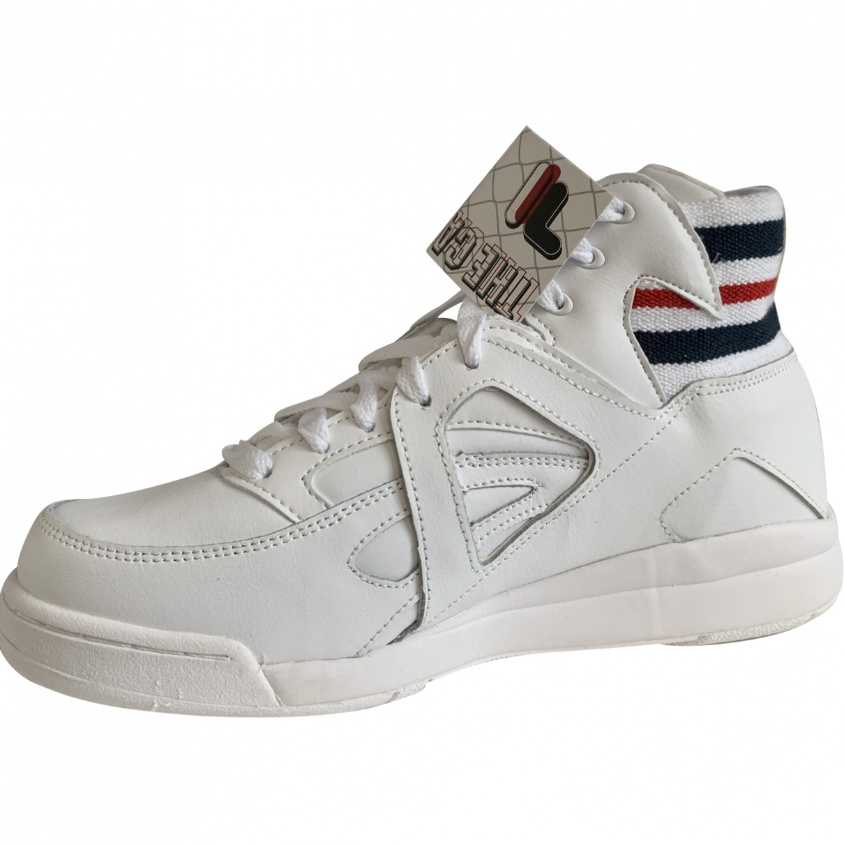 Fila \N White Leather Trainers for Women 9 UK