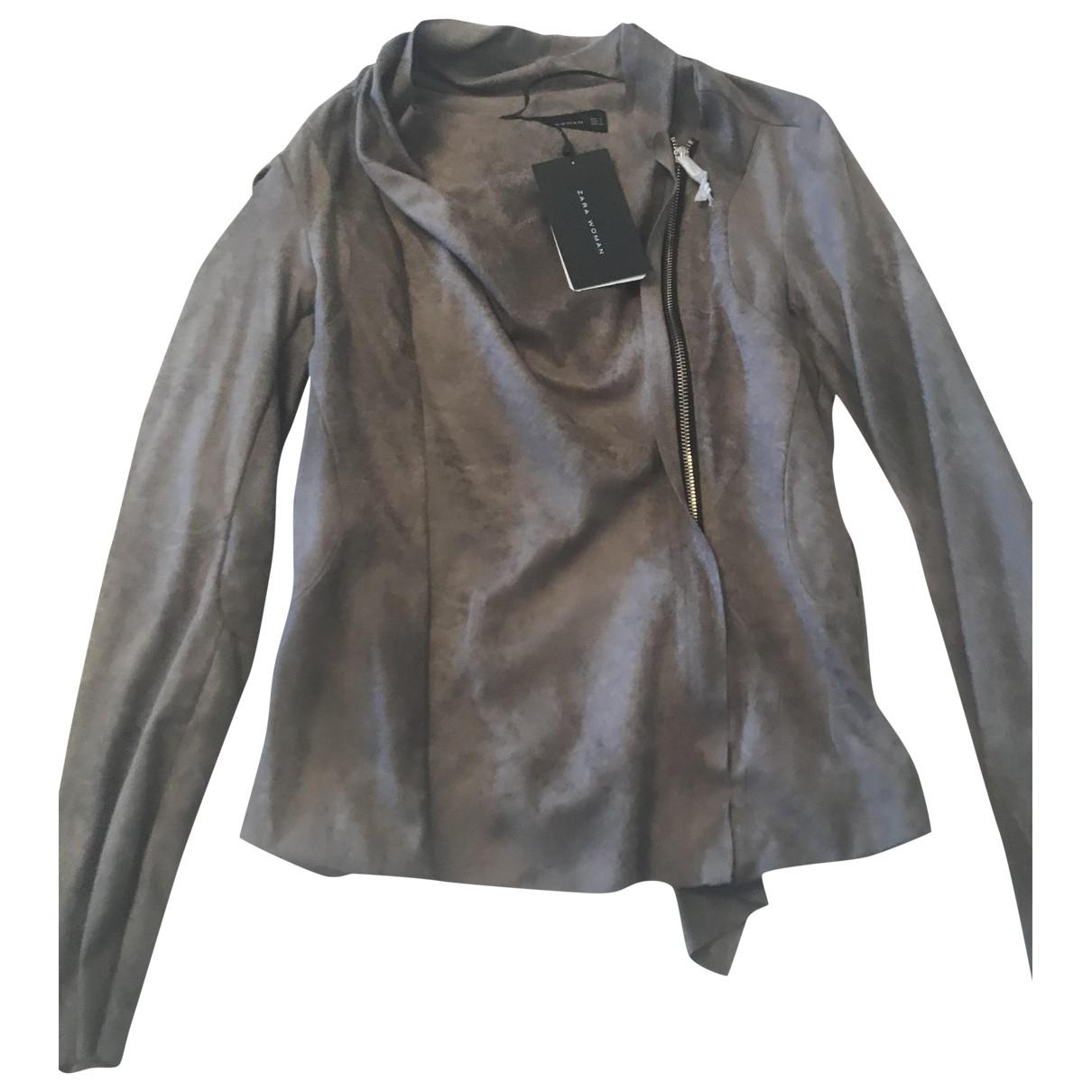 Zara \N Brown jacket for Women 40 IT
