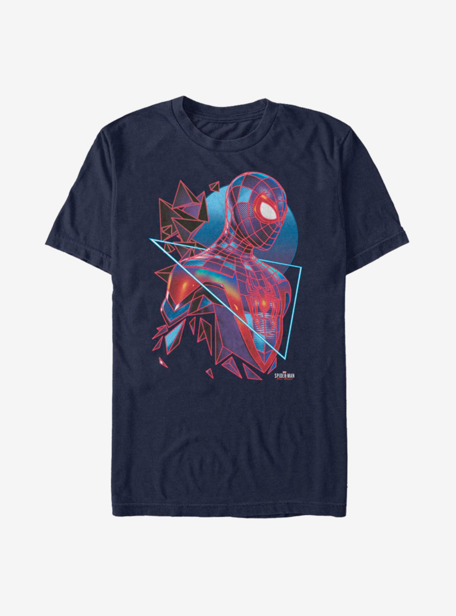 Marvel Spider-Man Miles Morales Eighties Style T-Shirt