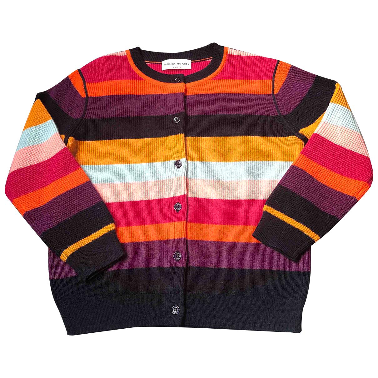 Sonia Rykiel - Pull   pour enfant en laine - multicolore