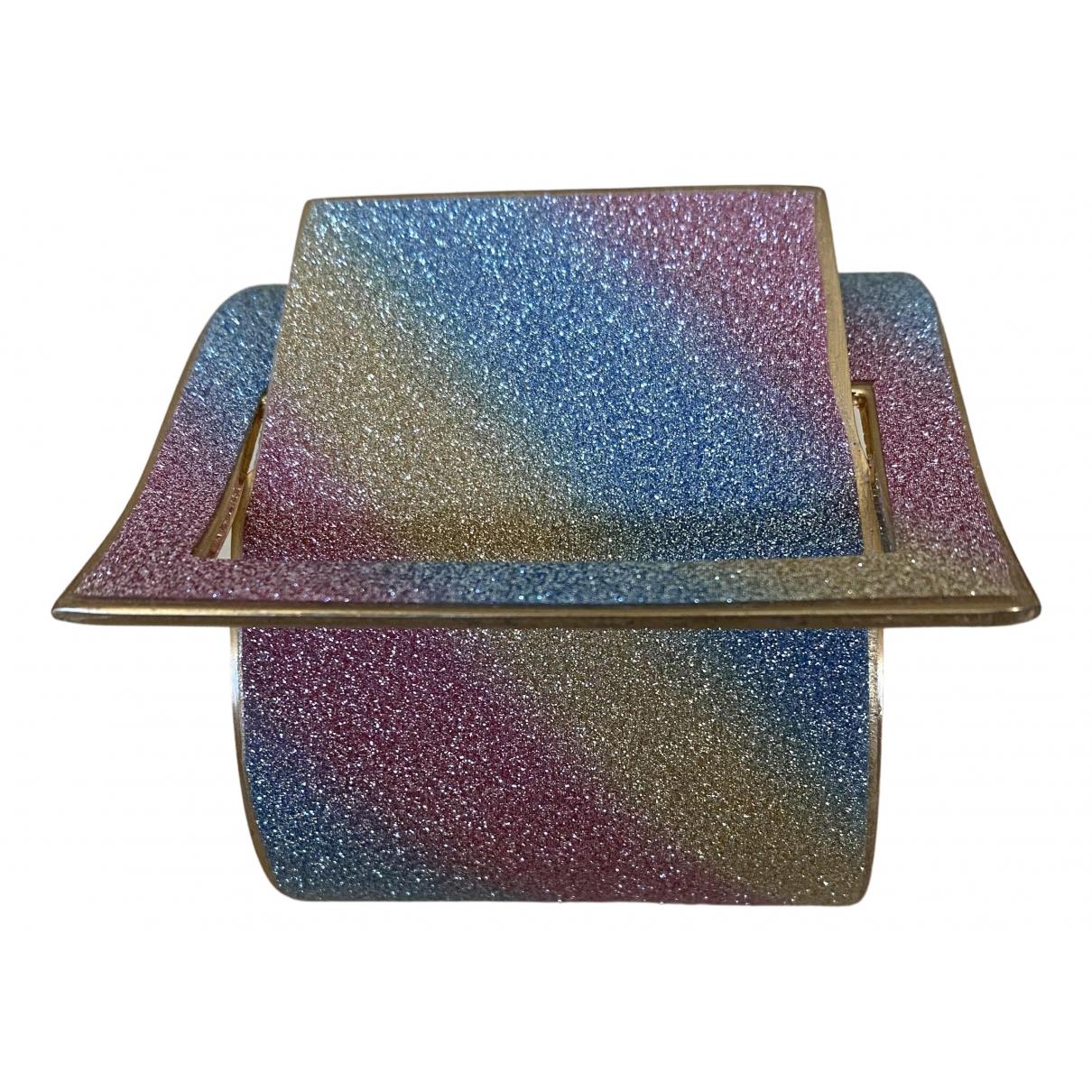 - Bracelet   pour femme en plaque or - multicolore