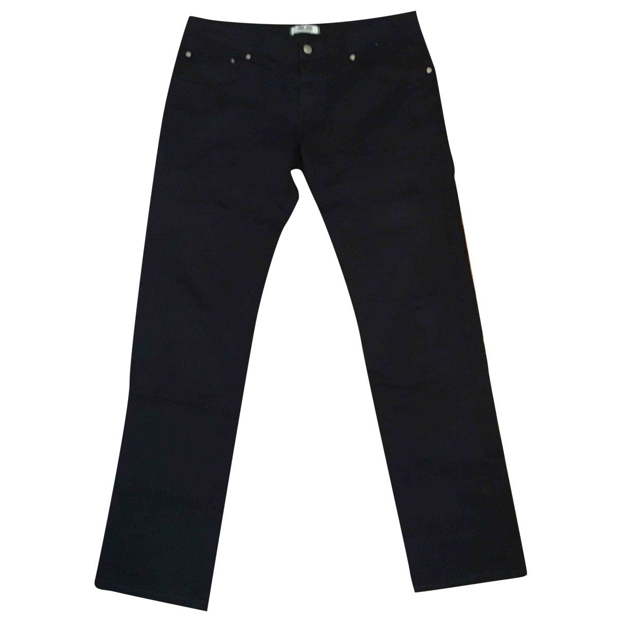 Cesare Paciotti \N Blue Cotton Trousers for Men 50 IT