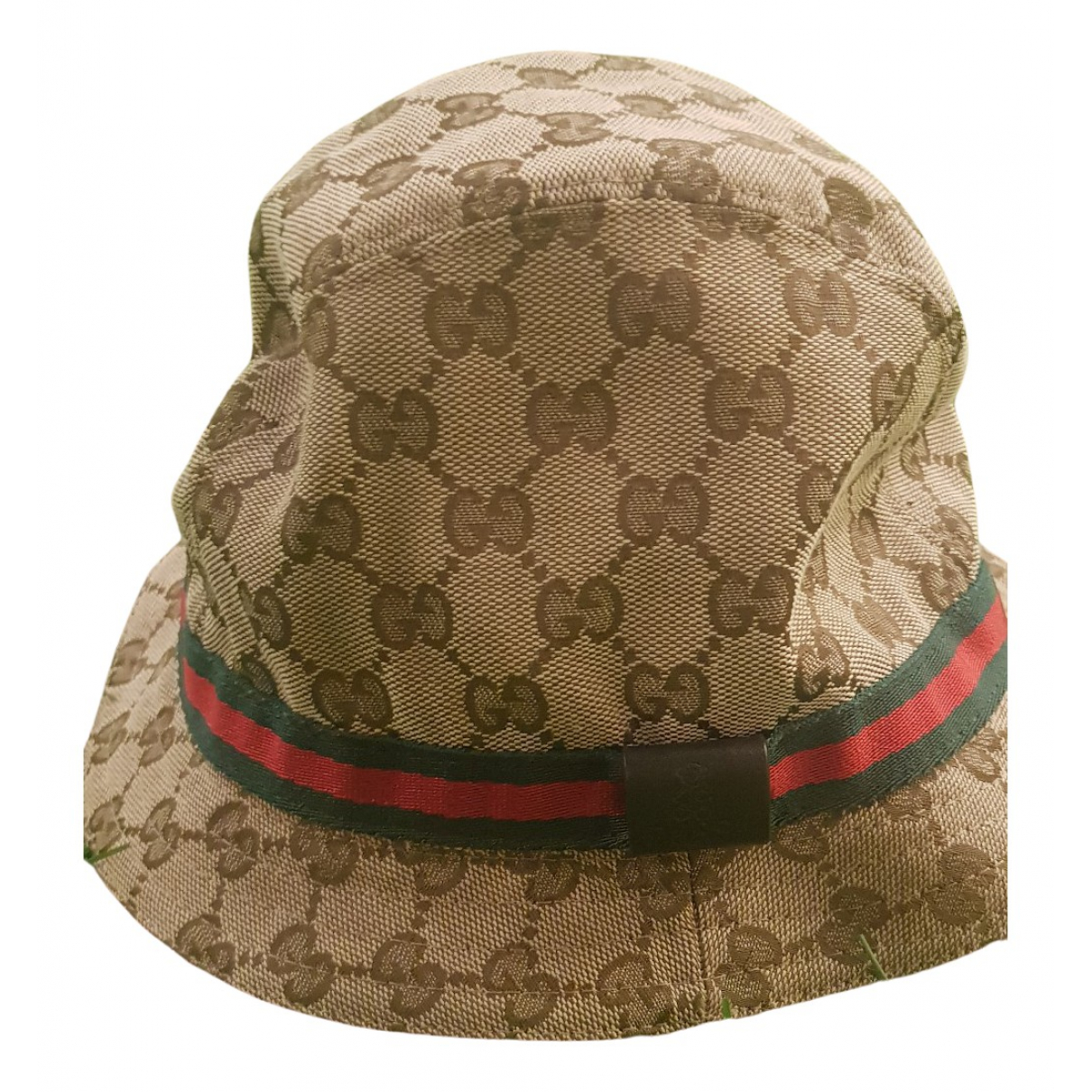 Gucci N Brown Cotton hat & Gloves for Kids N