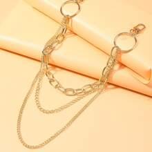 Layered Waist Pants Chain