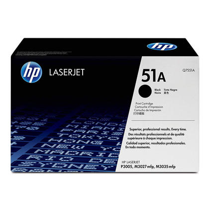 HP 51A Q7551A cartouche de toner originiale noire