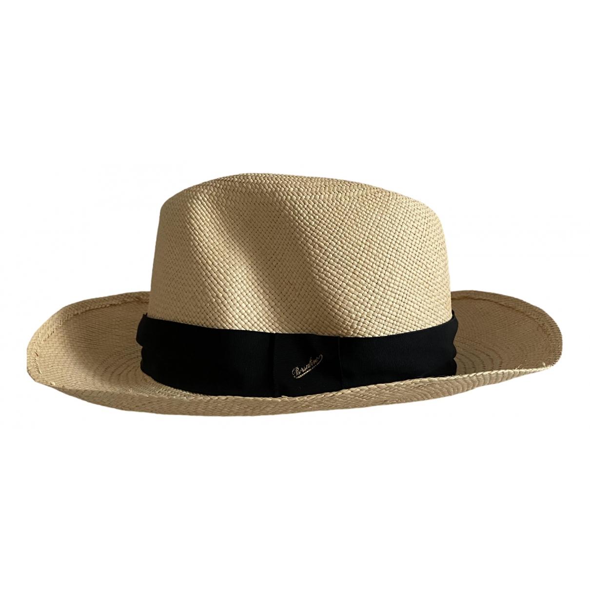 Borsalino - Chapeau   pour femme en paille - ecru