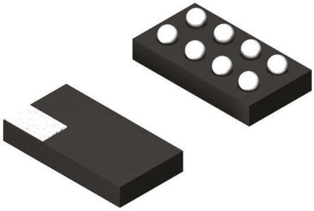 Texas Instruments TPS22920YZPR, 1-Channel Load Switch IC, Load Management, 4A, 0.75 to 3.6V 8-Pin, DSBGA (25)