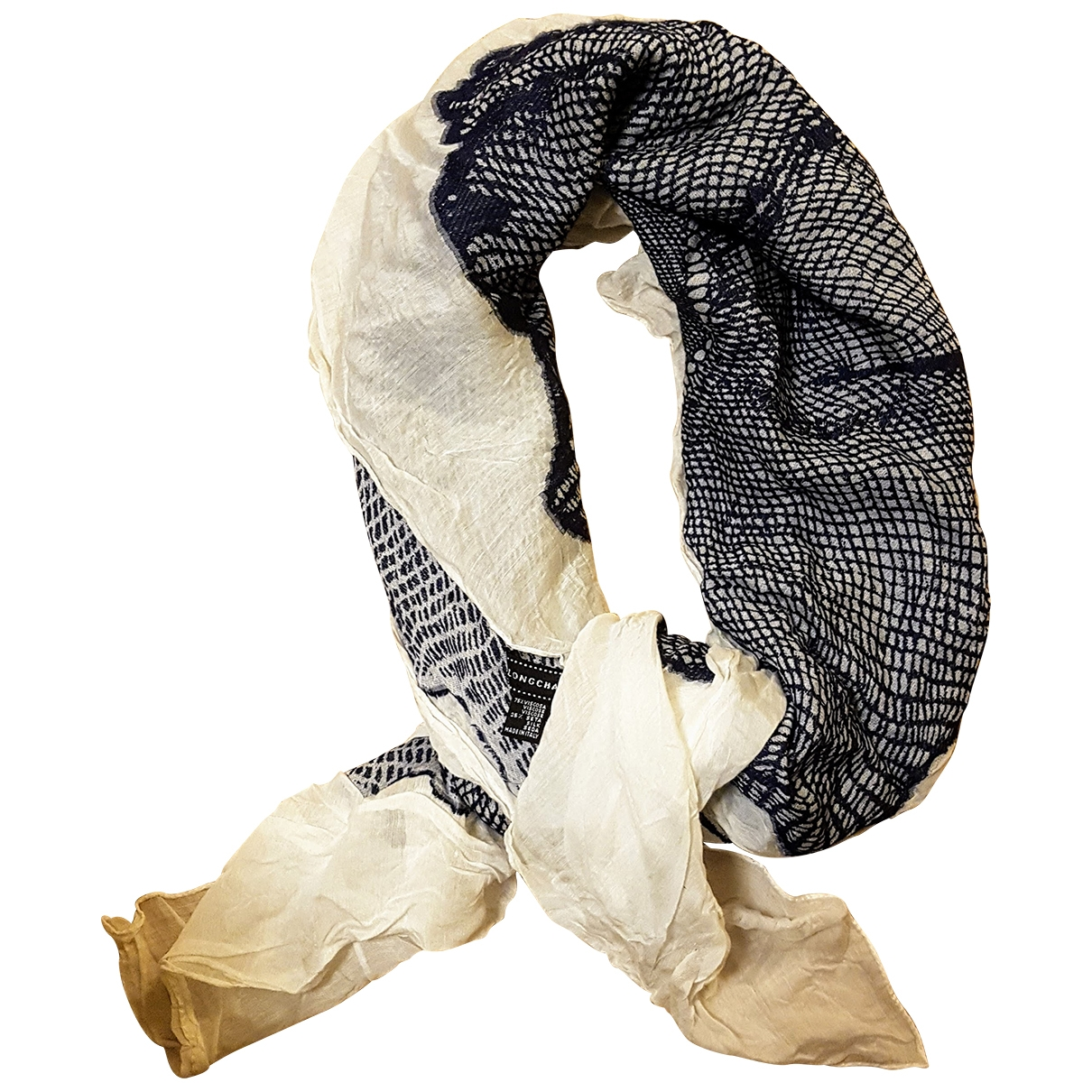 Longchamp \N Blue scarf for Women \N