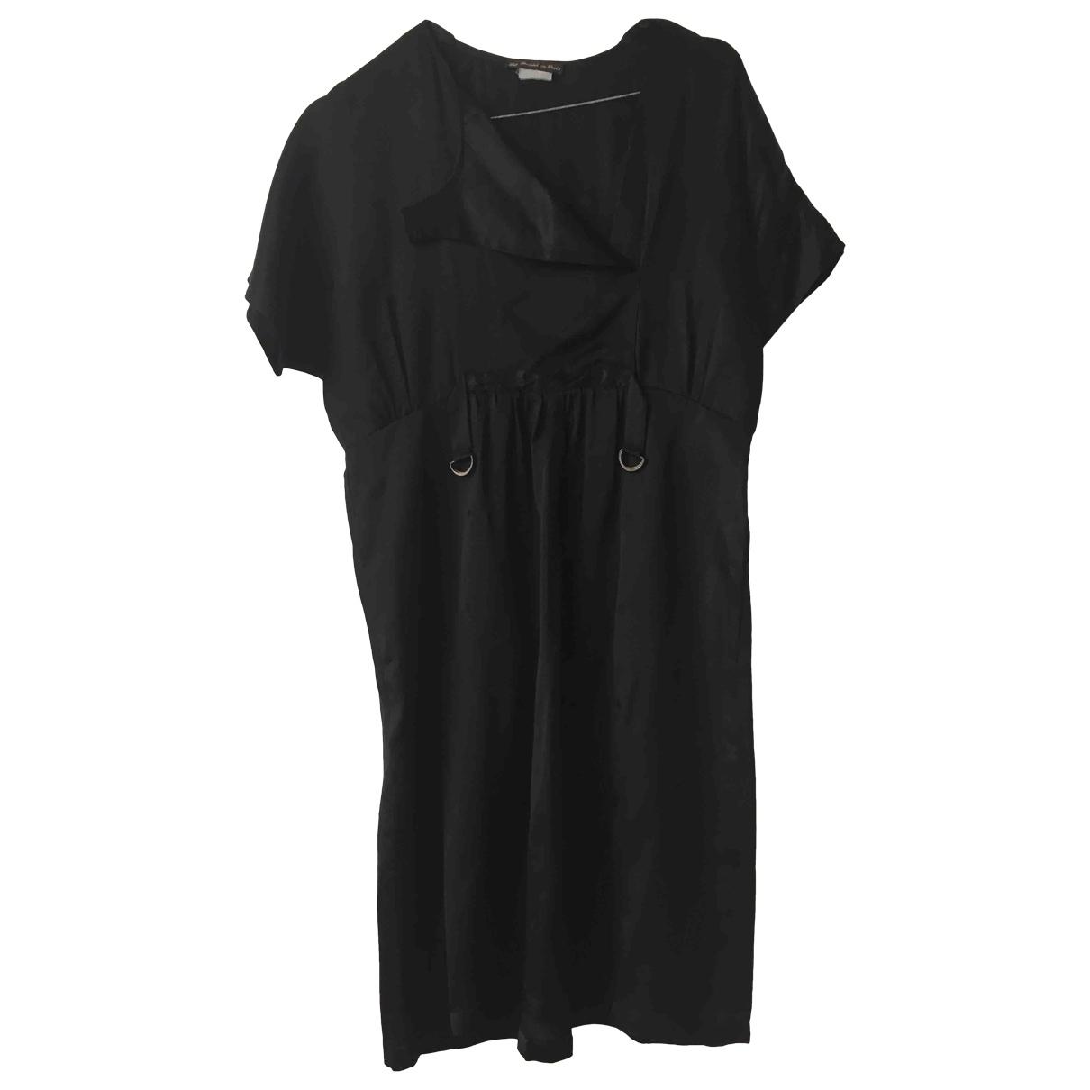Les Prairies De Paris - Robe   pour femme en soie - noir