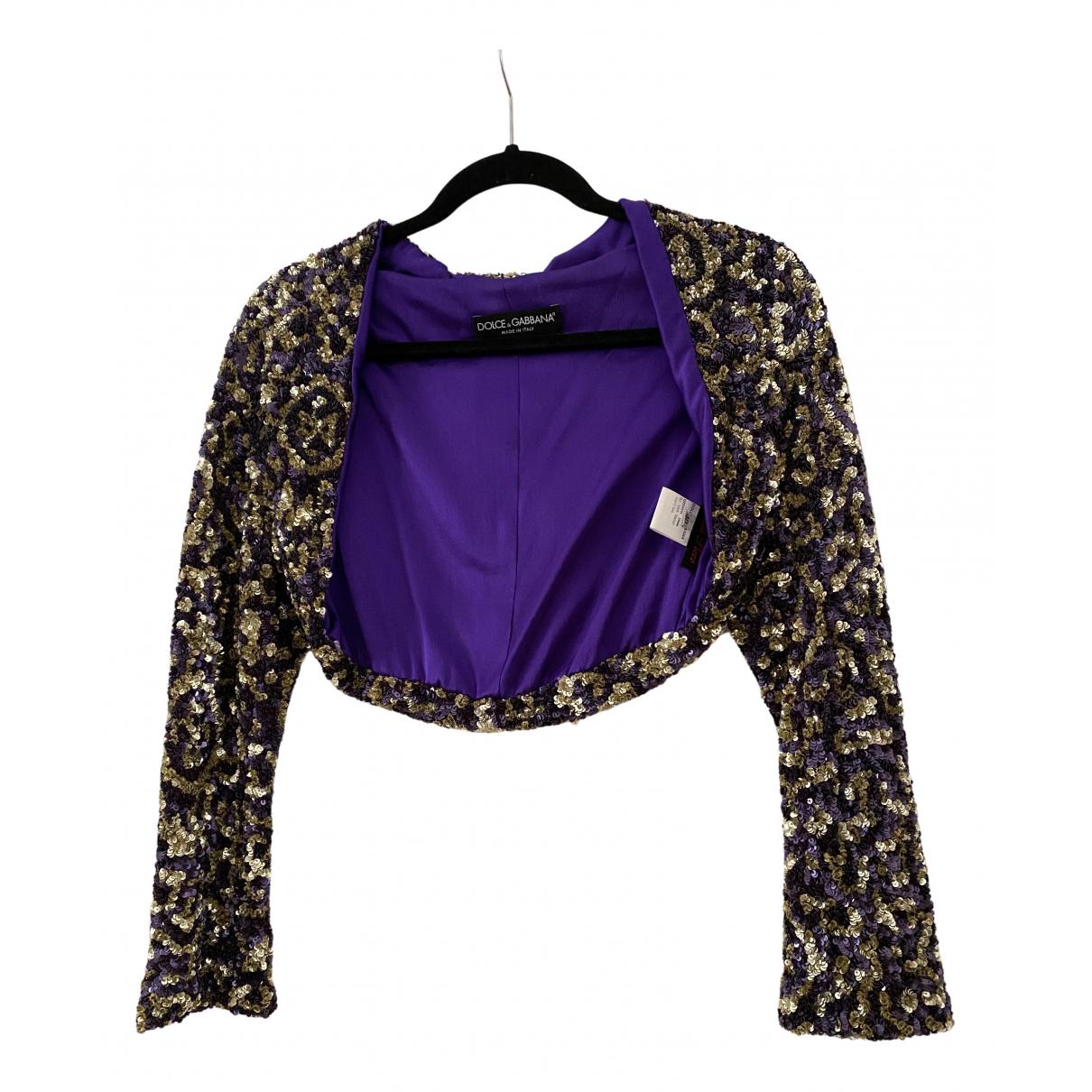 Dolce & Gabbana - Veste   pour femme en a paillettes - multicolore