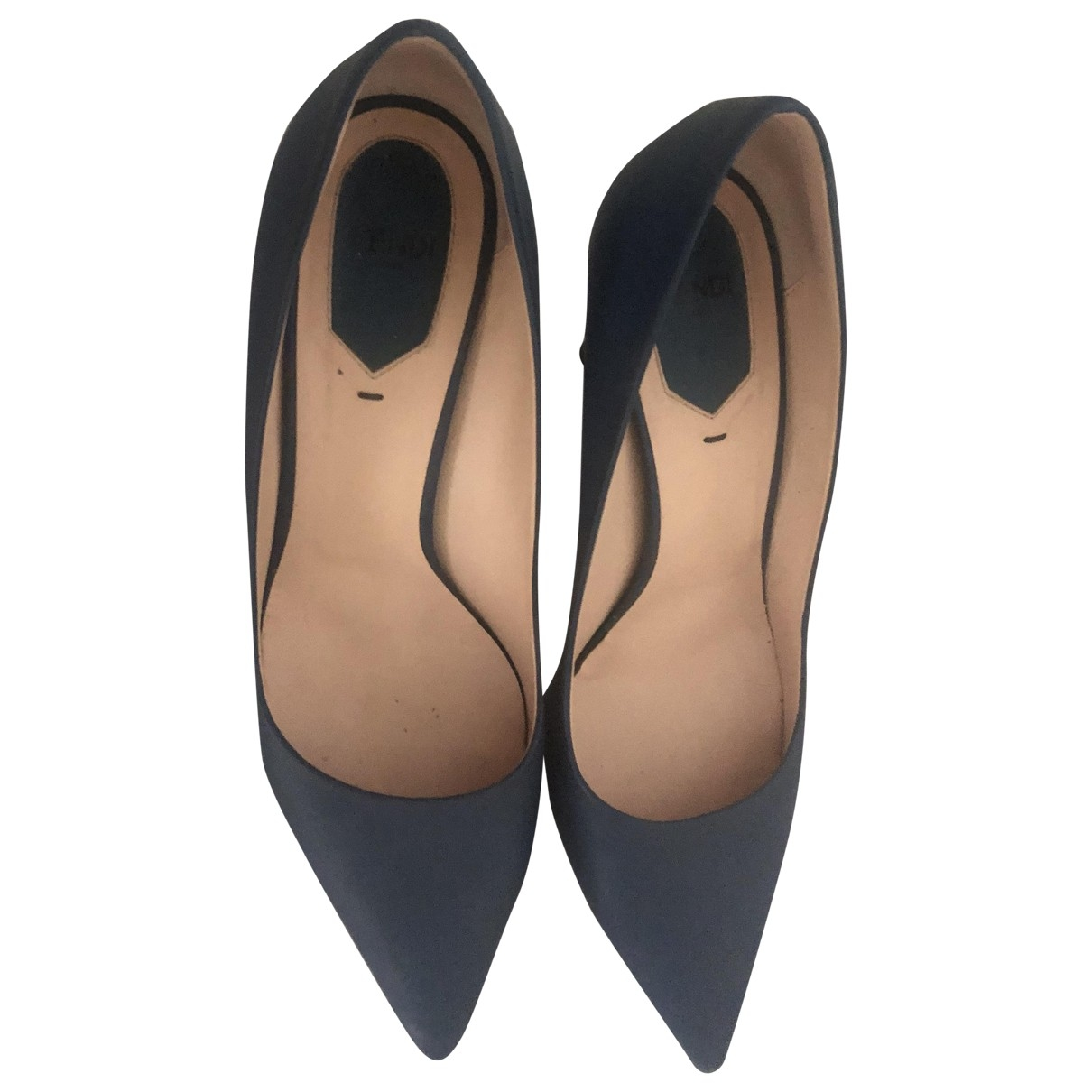 Fendi \N Pumps in  Marine Leder