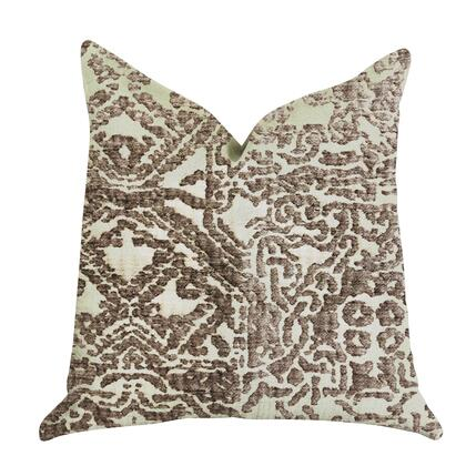 Truffle Collection PBRA1388-2020-DP Double sided  20 x 20 Plutus Dusky Cosmo Textured Luxury Throw