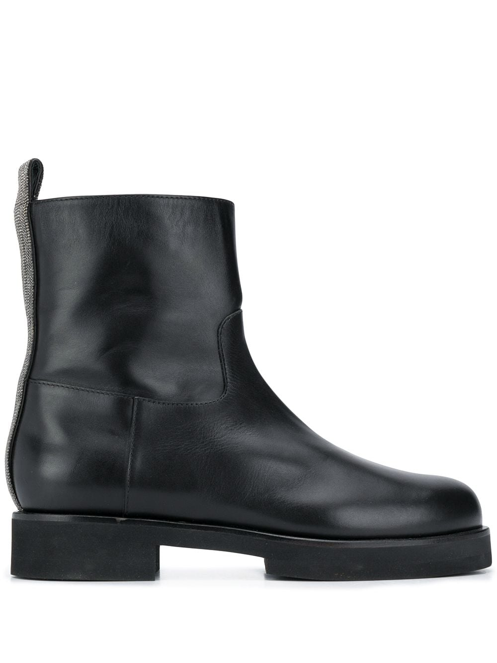 Martina Leather Ankle Boots