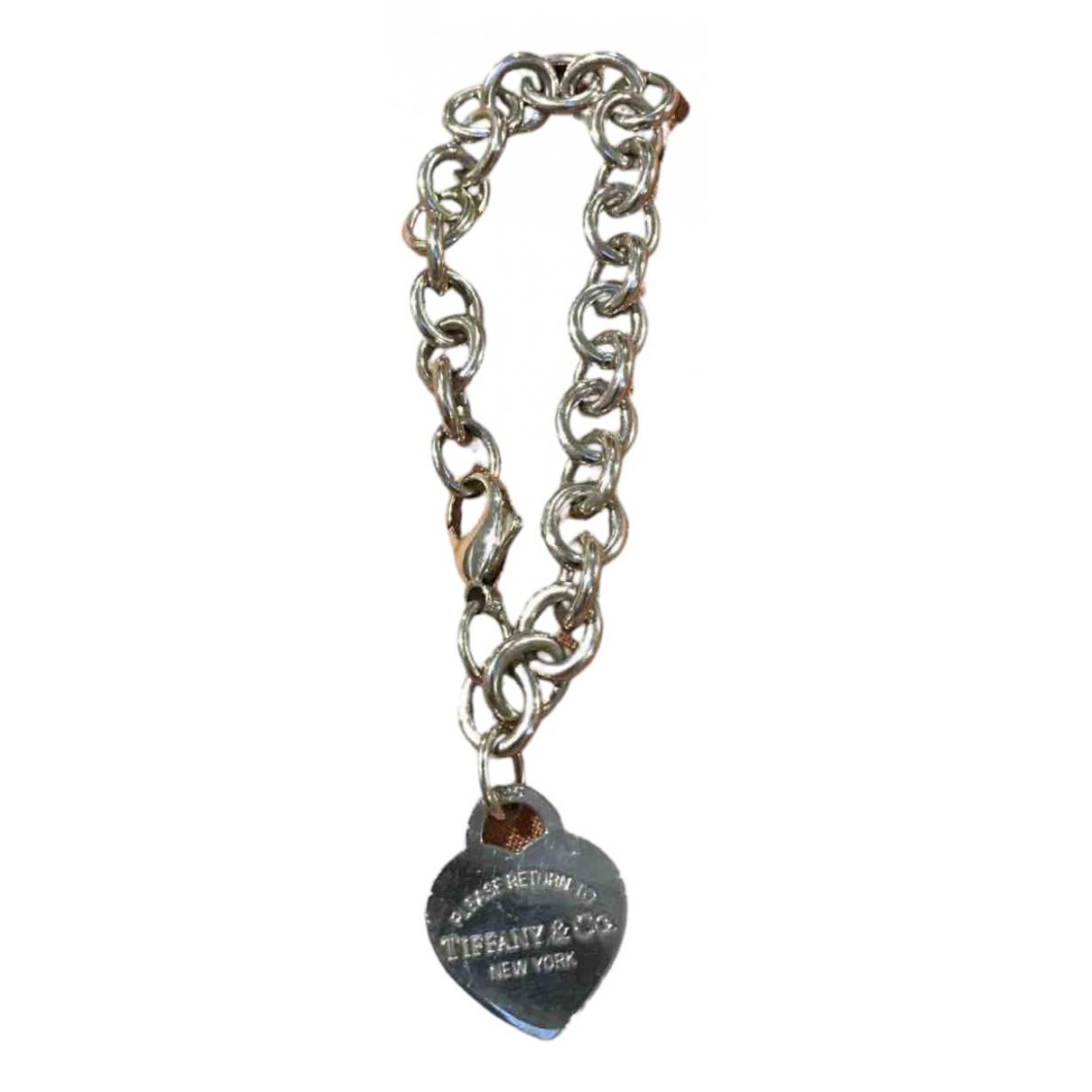 Tiffany & Co Return to Tiffany Silver Silver bracelet for Women \N