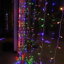 120 Stuecke Vorhang Schnurlicht