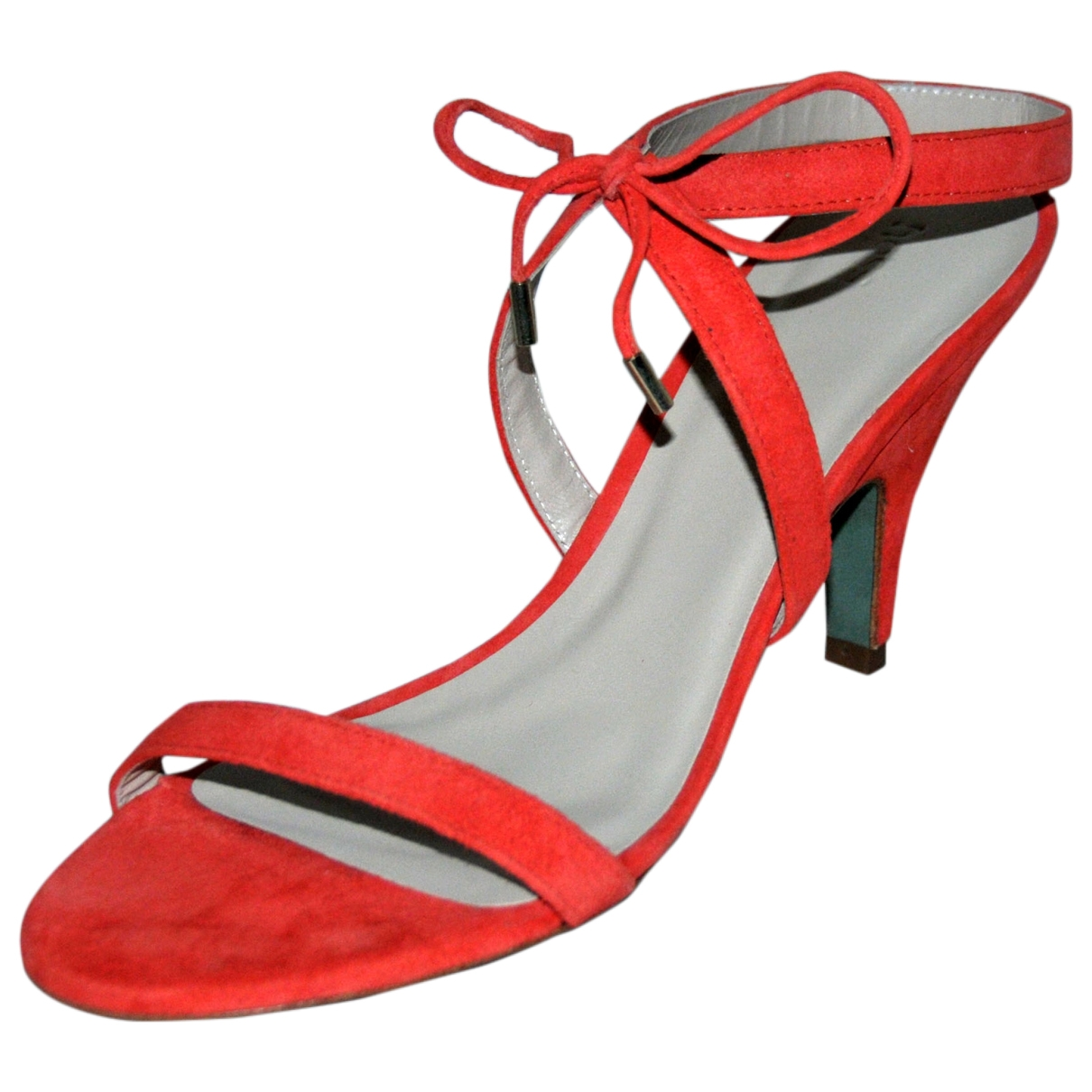 Hoss Intropia \N Red Leather Sandals for Women 40 EU