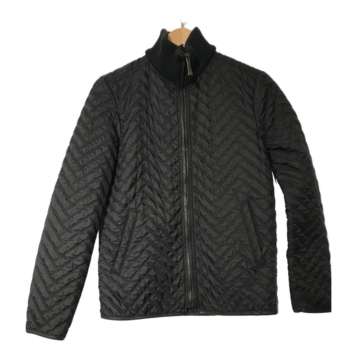 Versace Jean - Veste   pour femme en coton - noir