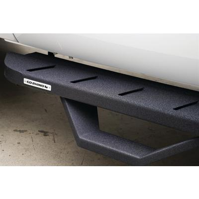 Go Rhino RB10 Running Board with Drop Steps (Black) - 6342358020T