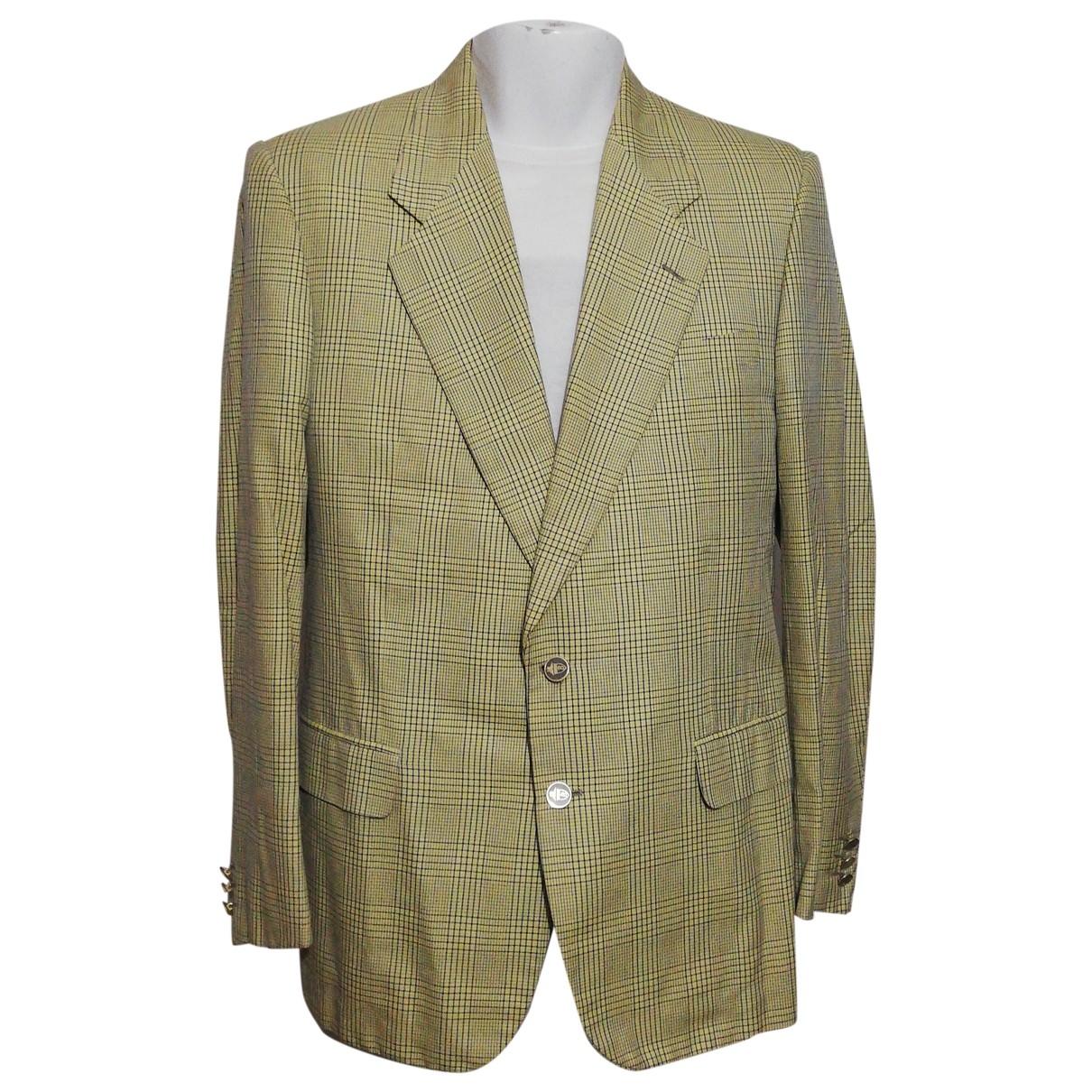 Non Signé / Unsigned \N Multicolour Cotton jacket  for Men 52 IT