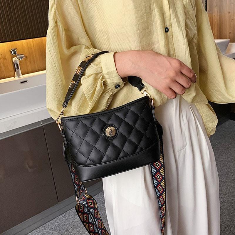 Ericdress Plaid Zipper Rectangle Tote Bags