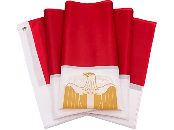 Danf Polyester Egyptian National Flag