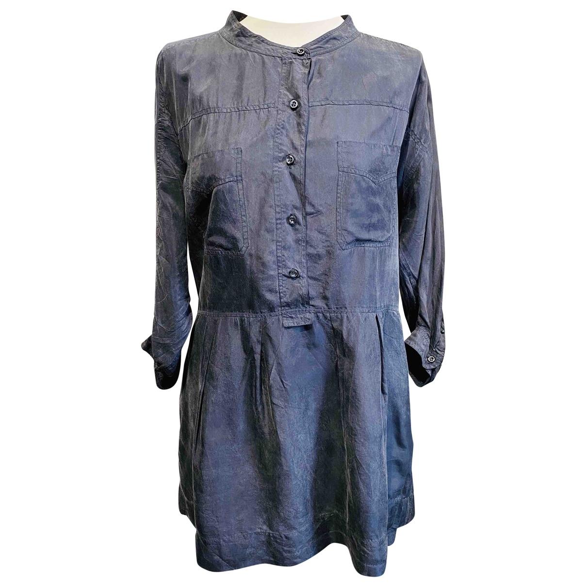 Isabel Marant Etoile - Robe   pour femme en soie - gris