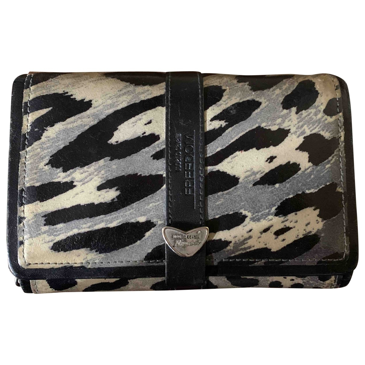 Roberto Cavalli \N Multicolour Leather wallet for Women \N